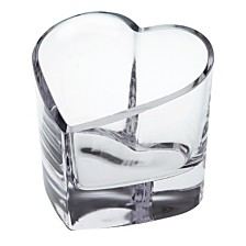 Badash Crystal Romance Heart Votive Holder