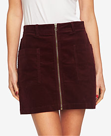 1. STATE Zip-Front Mini Skirt