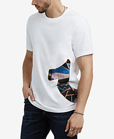 True Religion Men's Wrap Around Graphic T-Shirt