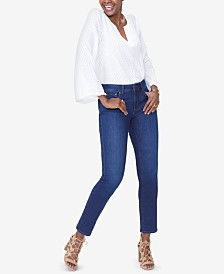 NYDJ Petite Sheri Tummy-Control Slim Jeans