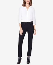 NYDJ Petite Sheri Tummy-Control Slim-Leg Jeans