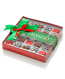 Frango Chocolate, 25 Piece Holiday Decorated Dark Mint