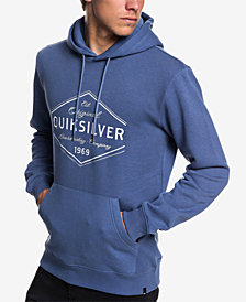 Quiksilver Men's Nowhere North Graphic Hoodie