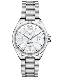 Women's Swiss Formula 1 Stainless Steel Bracelet Watch 35mm