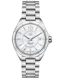 TAG Heuer Women's Swiss Formula 1 Stainless Steel Bracelet Watch 35mm