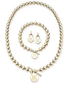 Beaded Logo Lock Jewelry Collection