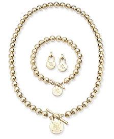Lauren Ralph Lauren Beaded Logo Lock Jewelry Collection