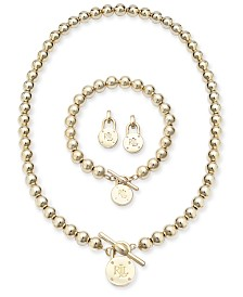 Lauren Ralph Lauren Beaded Logo Lock Jewelry Collection