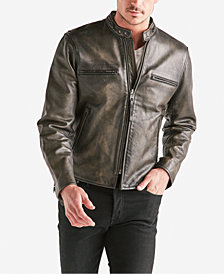 Lucky Brand Men's Leather Bonneville Jacket
