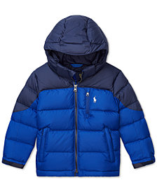 Polo Ralph Lauren Toddler Boys 2T Quilted Down Jacket