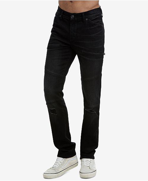 a28a7b51 True Religion Men's Rocco Classic Moto Jeans & Reviews - Jeans - Men ...
