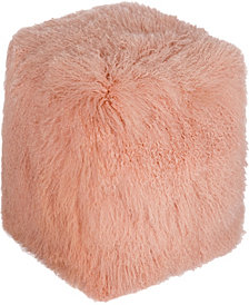 Lamb Fur Pouf