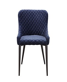 Etta Dining Chair Dark Blue