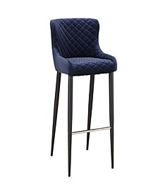 Etta Bar Stool Dark Blue