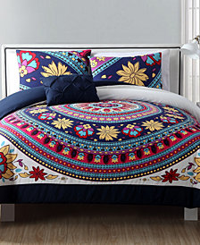 VCNY Home Ahimsa 3-Pc. Medallion Twin XL Comforter Set