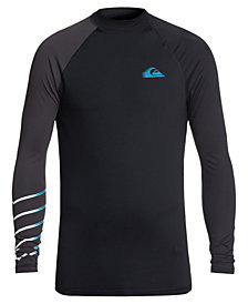Quiksilver Men's Active Colorblocked Rash Guard