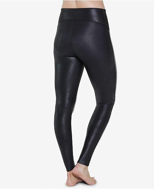 4eebb8986b719 SPANX Sequined Faux-Leather Leggings & Reviews - Handbags ...