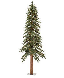 6' Natural Alpine Artificial Christmas Tree Unlit