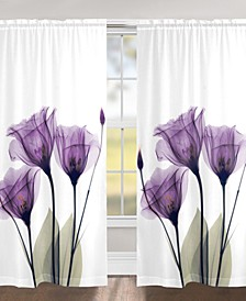 "Gentian Hope 84"" Sheer Window Panel"