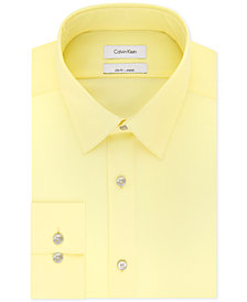 Calvin Klein Men's Slim-Fit Performance Non-Iron Stretch Infinite Color Dress Shirt