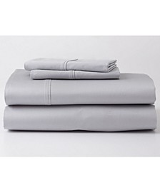 Premium Supima Cotton and Tencel Luxury Soft Queen Sheet Set