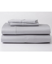Ghostbed Premium Supima Cotton and Tencel Luxury Soft Sheet Set in Gray, Multiple Sizes