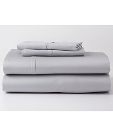 Ghostbed Premium Supima Cotton and Tencel Luxury Soft Queen Sheet Set