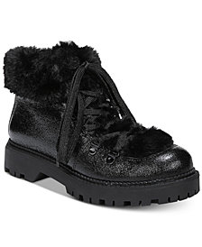 Circus by Sam Edelman Kilbourne Faux Fur Cold-Weather Booties