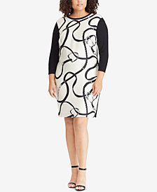 Lauren Ralph Lauren Plus Size Printed Dress