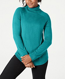 Petite Luxsoft Turtleneck Sweater, Created for Macy's