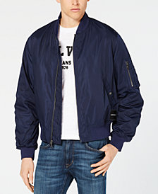 Calvin Klein Jeans Men's Nylon Bomber Jacket Created for Macy's