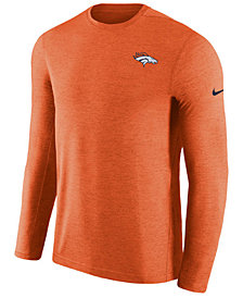 Nike Men's Denver Broncos Coaches Long Sleeve Top