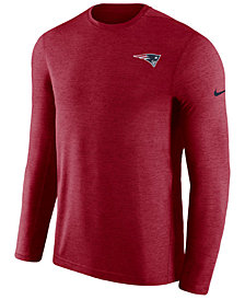 Nike Men's New England Patriots Coaches Long Sleeve Top