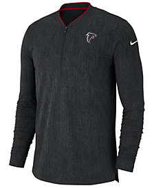 Nike Men's Atlanta Falcons Coaches Quarter-Zip Pullover