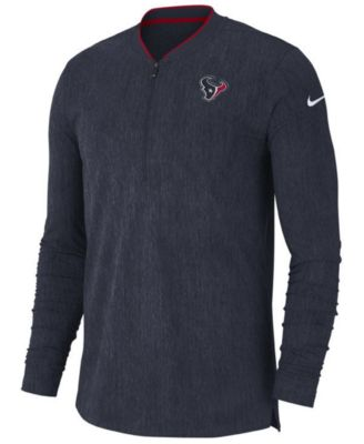Nike Men s Houston Texans Coaches Quarter-Zip Pullover - Sports Fan Shop By  Lids - Men - Macy s bdecb9ccd