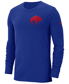 Nike Men's Buffalo Bills Heavyweight Seal Long Sleeve T-Shirt