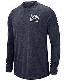 Nike Men's New York Giants Stadium Long Sleeve T-Shirt