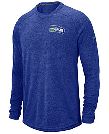 Nike Men's Seattle Seahawks Stadium Long Sleeve T-Shirt
