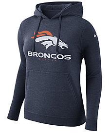 Nike Women's Denver Broncos Club Pullover Hoodie