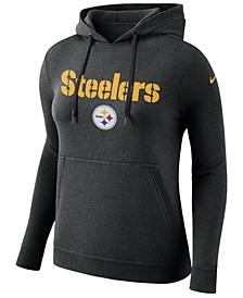 Women's Pittsburgh Steelers Club Pullover Hoodie