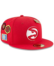 Atlanta Hawks On-Court Collection 59FIFTY FITTED Cap