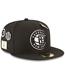 New Era Brooklyn Nets On-Court Collection 59FIFTY FITTED Cap