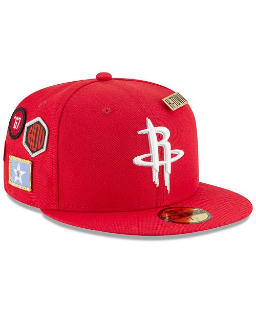 the latest 79e5a dc964 New Era Houston Rockets On-Court Collection 59FIFTY ...