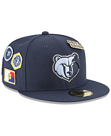 New Era Memphis Grizzlies On-Court Collection 59FIFTY FITTED Cap
