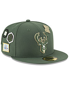 New Era Milwaukee Bucks On-Court Collection 59FIFTY FITTED Cap