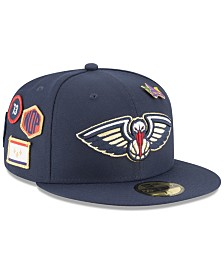 New Era New Orleans Pelicans On-Court Collection 59FIFTY FITTED Cap