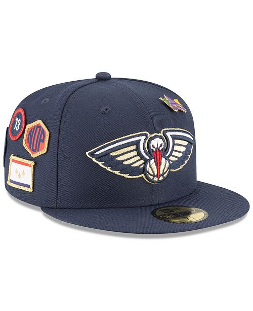 online retailer 8bd0c ab64b ... New Era New Orleans Pelicans On-Court Collection 59FIFTY FITTED Cap ...