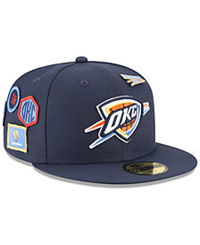 New Era Oklahoma City Thunder On-Court Collection 59FIFTY FITTED Cap