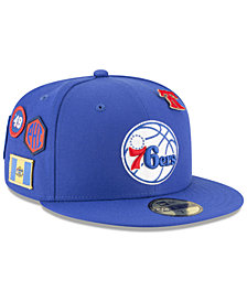 New Era Philadelphia 76ers On-Court Collection 59FIFTY FITTED Cap
