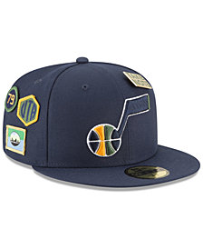 New Era Utah Jazz On-Court Collection 59FIFTY FITTED Cap